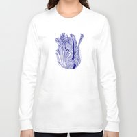 tulip Long Sleeve T-shirts featuring Dark tulip by Annike
