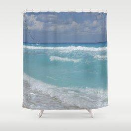 Carribean sea 3 Shower Curtain