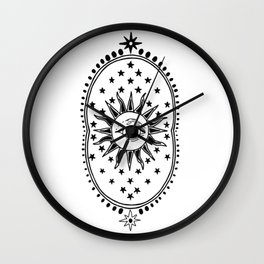 The Future & The Past Wall Clock