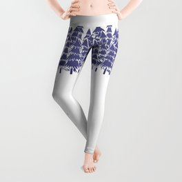 Alone in the forest Leggings