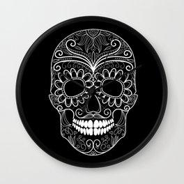 The Dark Side of Skull Wall Clock