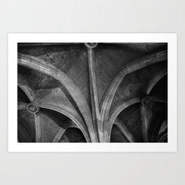 Narbonne ceilings Art Print