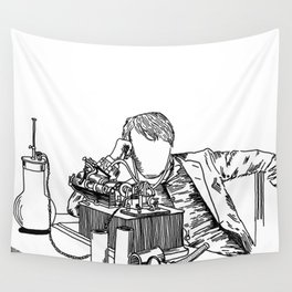 The Wizard of Menlo Park Wall Tapestry