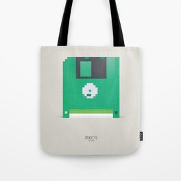 Pixelated Technology - Diskette Tote Bag