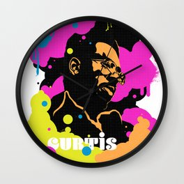Soul Activism :: Curtis Mayfield Wall Clock