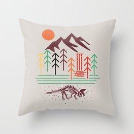 The Land That Time Forgot Throw Pillow