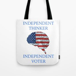 Independent Voter Tote Bag