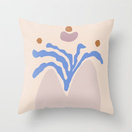 Sea weed Throw Pillow