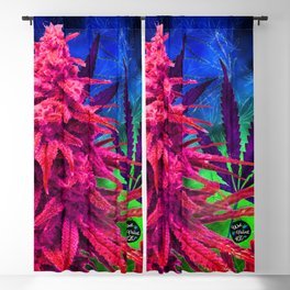 Hot Pink Kola Blackout Curtain