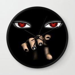 Naruto / Itachi Sharingan  Wall Clock