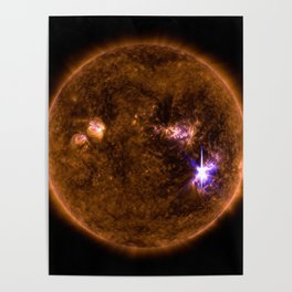 Solar Flares, Sept. 4, 2017 Poster
