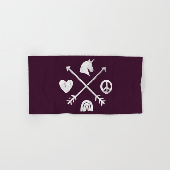 Sugar and Spice Compass Hand & Bath Towel