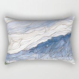Early Morning from Goat Rock 2 Rectangular Pillow