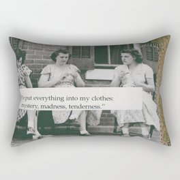 everything Rectangular Pillow