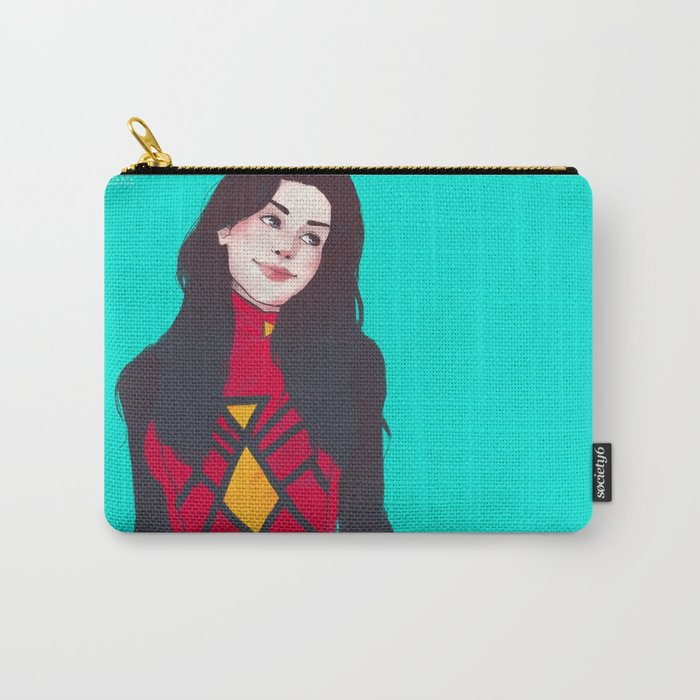 raise your hand if you have spider powers Carry-All Pouch