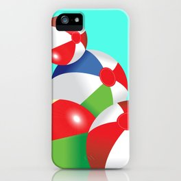 Beach Pop iPhone Case