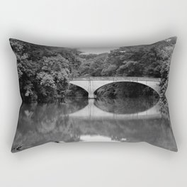 Illinois River Bridge, Siloam Springs Rectangular Pillow