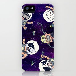 CatStronauts iPhone Case