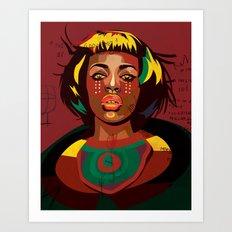Naomi Kaji Art Print