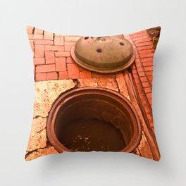 SEWER FILTH Throw Pillow