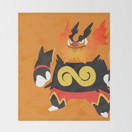 Emboar Throw Blanket
