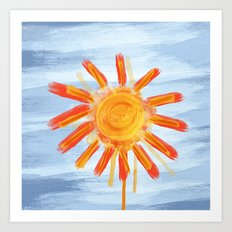 Sunshine Painting Art Print