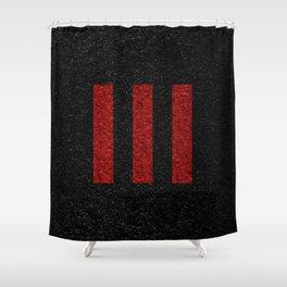 Three Strikes Shower Curtain