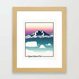 Olympic National Park Framed Art Print