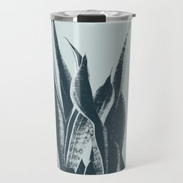 Long Leaves of The Green Plant #decor #society6 #buyart Travel Mug