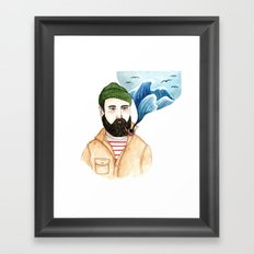 The Sailor and the Sea Framed Art Print