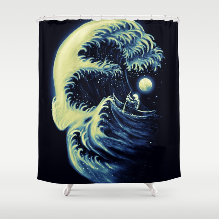 Death Wave Shower Curtain