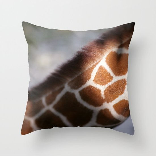 Giraffe #2 Throw Pillow