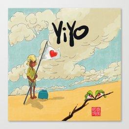 Yiyo y los Barancolis Canvas Print