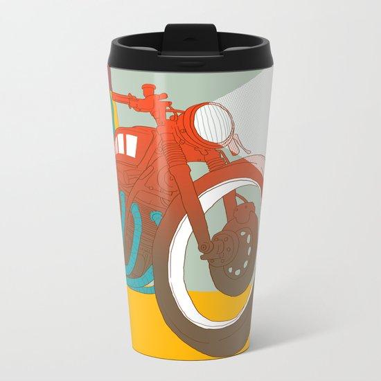 sitting Metal Travel Mug