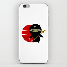 NINJA STAR iPhone & iPod Skin