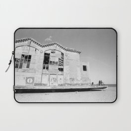Asbury Park - Casino Ruins with Bikers Laptop Sleeve