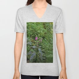 Moments of Quiet Reflection Unisex V-Neck