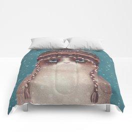 Under snow Comforters