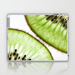 Macro photo of kiwifruit Laptop & iPad Skin