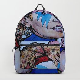 Jem and Dazzler - Kylie and Dannii Minogue Backpack