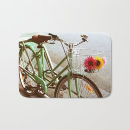 MINTY BIKE Bath Mat