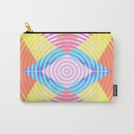 Psychedelic shapes Carry-All Pouch