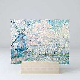 "Paul Signac ""Canal of Overschie"" Mini Art Print"