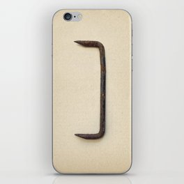 the Forgotten Workshop series- Railroad Sleeper Staple iPhone Skin