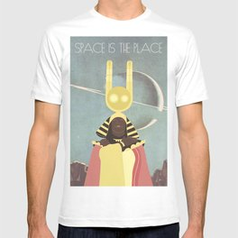 SUN RA: SPACE IS THE PLACE T-shirt