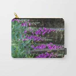 Woodland Foxgloves Carry-All Pouch