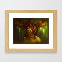 Kernunnos Framed Art Print