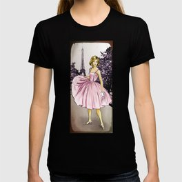 Pretty In Pink In Paris T-shirt