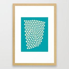 Raised In Reef 2 Framed Art Print