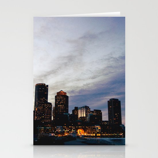 Christmas in Boston Stationery Cards